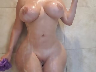 Crystal Lust - Hard Fuck Shower Love Making