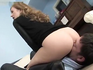 Misstress T facesitting and asslicking