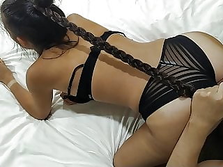The wettest slut ever in my hotel room