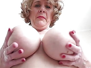British mom with perfect big boobs